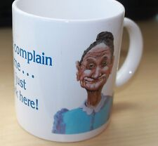 Funny Old Lady Job Coffee Mug Don't complain to me I just work... by Boots B11