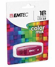 Genuine EMTEC C410 RD 16GB USB 2.0 Flash Drive Pen Thumb Memory Stick AT