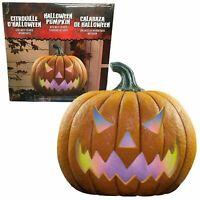 LED Halloween Pumpkin with Motion Sensor Lights & Sounds Halloween Party