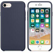 Funda silicona iphone 7/8 textura suave  Azul oscuro