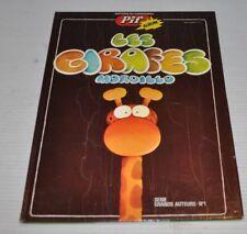 LES GIRAFES MORDILLO BD - BOOK Pif Album 1975