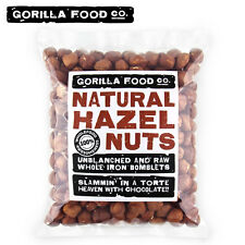 Gorilla Food Co. Natural Hazelnuts Whole Raw - 1lb/16oz