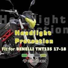 Motorcycle ABS Headlight Screen Protection Cover for Benelli TNT135 2017-2018