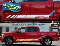 Vinyl Decal Stripes Fits FORD F-150 XL XLT SXT Platinum King Ranch Crew Cab