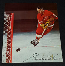 1967/68 - POST CEREALS - GORDIE HOWE - NHL -DETROIT RED WINGS - HOCKEY PHOTO