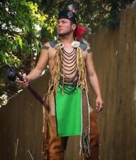 Cherokee loincloth native american made regalia pow wow reenactor breechclout
