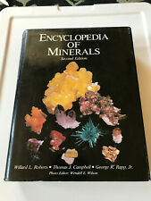 Mineralogical book:Encyclopedia of Minerals, second edition, 1990, Roberts/Rapp