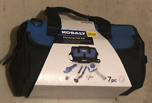 Kobalt Plumbing Tool Set 7 pc. w/ Bag BRAND NEW