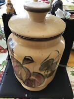 california pottery cookie jar