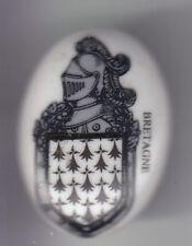RARE PINS PIN'S ..  GENDARMERIE NATIONALE BLASON ARM PORCELAINE BRETAGNE 3D ~DY