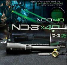 Designador Outdoor Caza láser verde ND3x40 con óptica a larga distancia de montaje