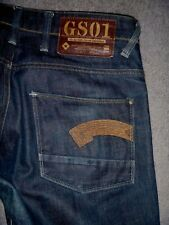#2501 G STAR 'Heller' Low Straight Fit Jeans Size 33