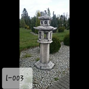110cm tall!!Stone/Concrete Pagoda Garden Ornament Chinese/Japanese Lantern/Lamp