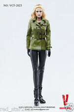 1/6 VERYCOOL VCF-2023 Poisonous Snake Woman Green Leather Clothing Sets W Head