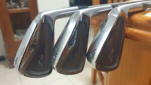 Srixon Z745 Forged Irons 4-PW Stiff Steel Fibre i80 Shafts