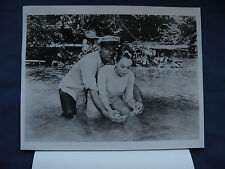 Father Goose Cary Grant w/release letter Photo 8X10 B&W movie KTVU Ch. 2