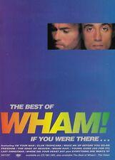 WHAM ! / GEORGE MICHAEL - music magazine advert for the 1997 album : BEST OF ...