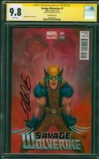 Savage Wolverine 1 CGC SS 9.8 Frank Cho 1:50 Variant new X Men Phoenix Movie