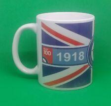 RAF 100th anniversary mug Royal air force centenary militarily memorabilia gift.