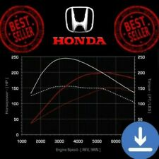 Honda ECU Map Tuning Files Stage 1,2