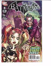 Lot Of 3 Batman Arkham City DC Comic Books # 1 3 5 FN-VF Harley Quinn Joker JB5