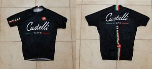 Castelli Cafe cycling Shirt XL Jersey Cycle Camiseta Italy