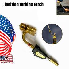 Gas Ignition Turbine Torch Plumbing Gun Solder Propane Welding Plumbing Gun Tool