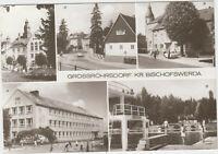 Foto AK DDR Grossröhrsdorf Kr.Bischofswerda 1984 ! Gasthof Schule Massenei Bad !