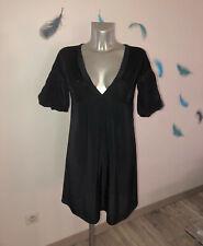 robe viscose noire MC PLANETE taille 38 fr usa 6 NEUVE ÉTIQUETTE