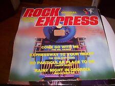 ROCK EXPRESS ORIGINAL HITS OF THE 1960'S-LP-VG+-DEL VIKINGS-CHUCK BERRY-BENTON