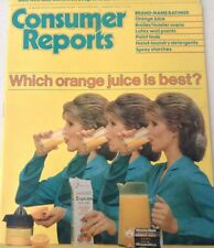 Consumer Reports Magazine Which Orange Juice Is Best February 1982 072917nonrh