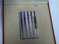 S T Dupont Line 2 Large Lighter - Silver Plated  - Comes Boxed