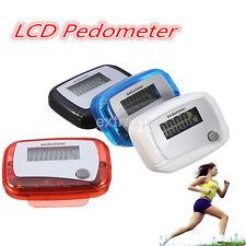 Portable Digital LCD Pedometer Odometer Walking Running Pedometer Calorie Meter