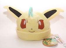 Cosplay New Costume Pokemon Adult Soft Plush Hat Cap Beanie Leafeon Doll Toy