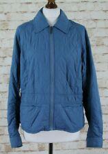 BARBOUR Lambourn Quilt Blue Jacket size Uk 16