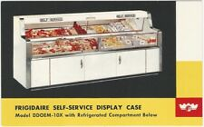 1952 Frigidaire Self-Service Commercial Display Case Advertising Postcard