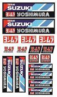Suzuki GSXR Racing Team Motorrad Stickers Aufkleber GSXR Yoshimura laminiert /30