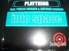 Plaything into Space Australian Remixes CD Single - Like New