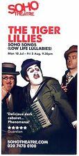 THE TIGER LILLIES Theatre Flyer Handbill