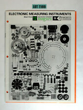 Meguro Electronic Measuring Instruments Products Catalog Vintage Book Lot T189