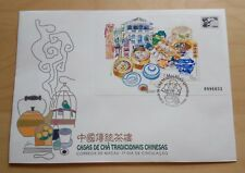 1996 Macau Traditional Chinese Tea Houses Souvenir Sheet S/S FDC 澳门中国传统茶楼小型张首日封