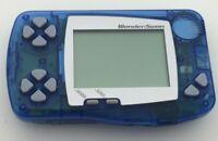 Bandai WonderSwan Crystal Blue Handheld System Japan Import TESTED WORKS