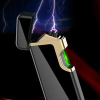 Photoelectric induction Dul Arc Windproof flameless USB charging lighters No gas