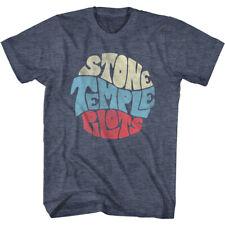Stone Temple Pilots Vintage Logo Men's T Shirt Alt Rock Band Merch Live Album