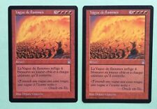 MTG MAGIC Carte VAGUE DE FLAMMES Flame Wave Ext. FORTERESSE Stronghold
