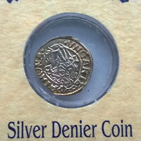 Hungary 1540-1600 Denier Silver Coin