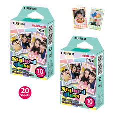 Stained Glass Fujifilm Instax Mini Instant Film 20 Photos For Fuji 7s 8 9 2