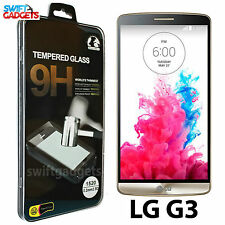 100% Genuine Premium Tempered Film Glass Screen Protector for LG G3 D855 D850