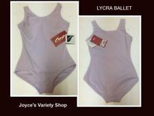 Lycra Dancers Lavender Leotard Youth Girl's Sz Intermediate Sleeveless