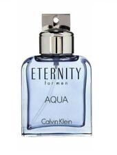 Eternity Aqua Calvin Klein Men 3.4 Oz 100 ML Eau De Toilette Spray New